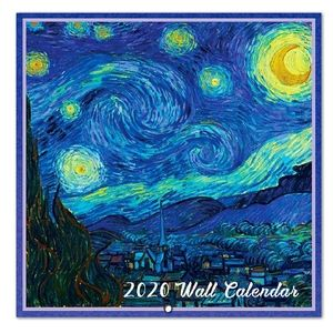 Van Gogh 2020 Wall Calendar
